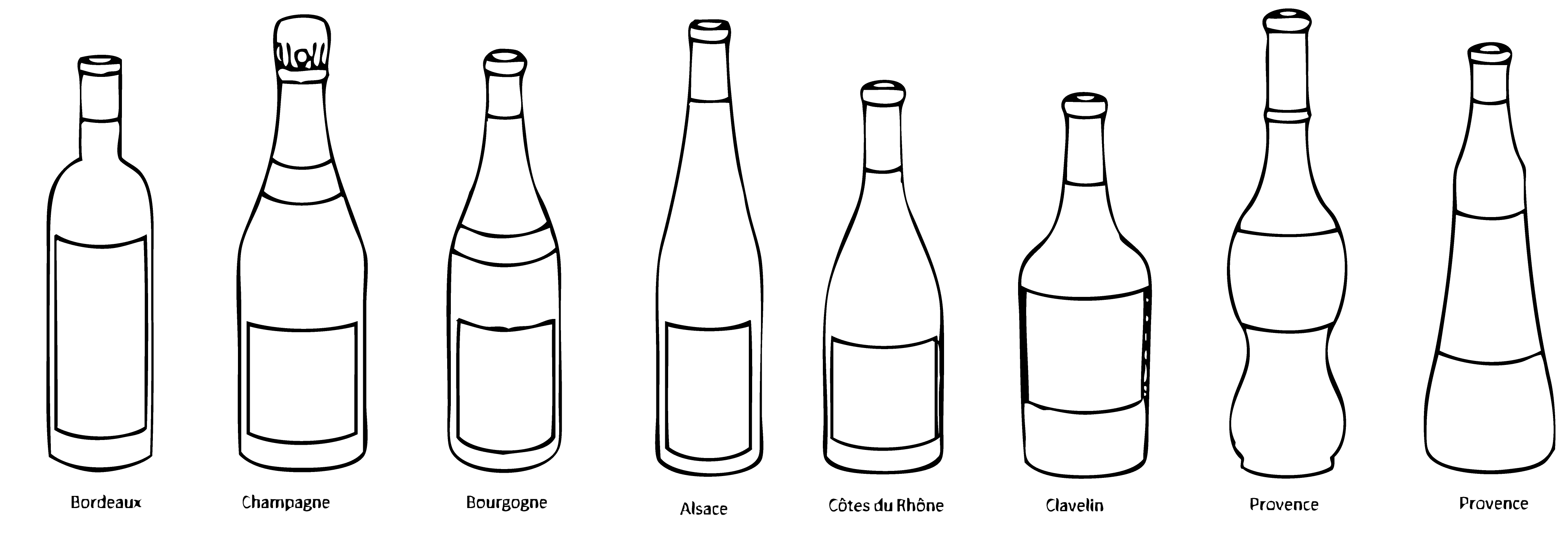 formes-de-bouteilles