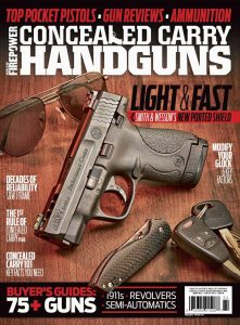 Conceal & Carry Handguns - Summer 2016