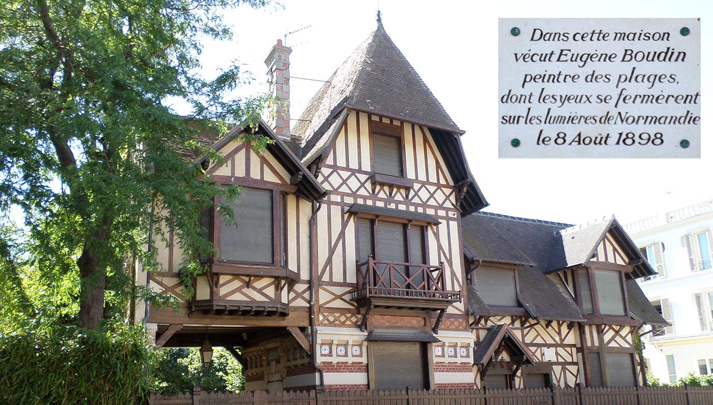 La maison d'Eugène Boudin
