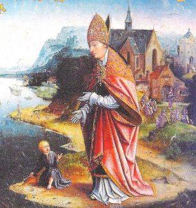 Saint Augustin et l'enfant
