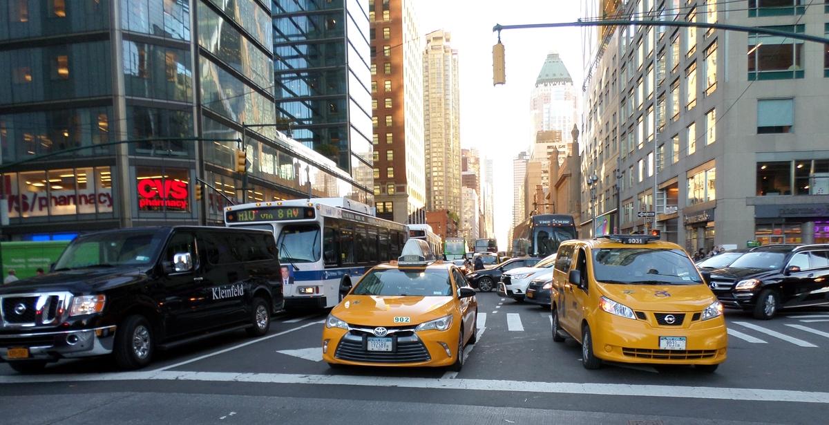 Une rue de New-York
