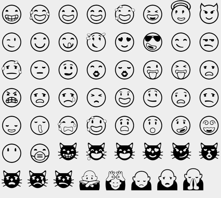 Les Smileys En Html Et Sous WordPress Denez Com
