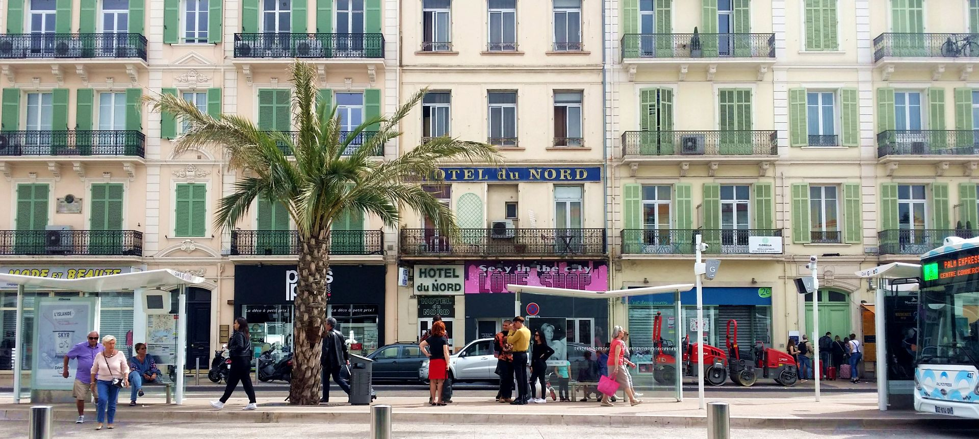 L'Hôtel du Nord de Cannes